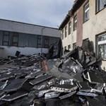 Annyira megtépázta a vihar a polgárdi iskola tetejét, hogy nem lesz tanítás jövő héten – fotók