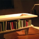 Könyvtár és fürdőkád egyben – egy érdekes megoldás