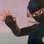 Burkában harcol a legújabb szuperhős