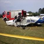 Tovább vizsgálják a dunakeszi repülőbaleset körülményeit