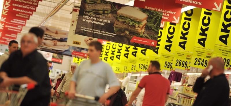 Nagy dobásra készül az Auchan