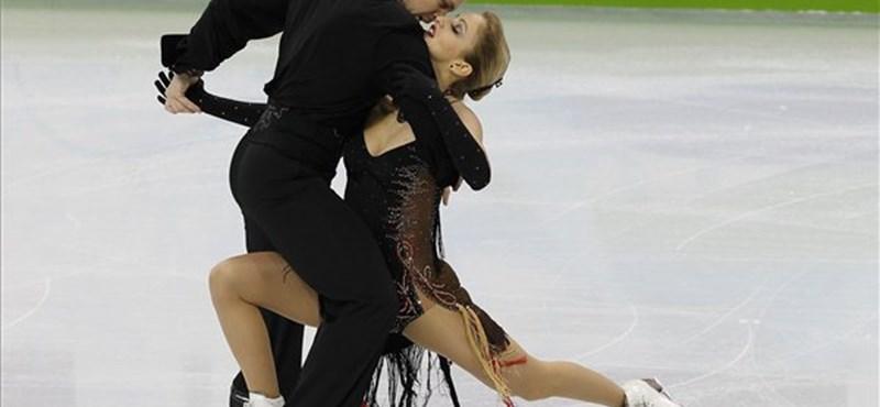 Téli olimpia: összeakadt a lába, elégedetlen Hoffmann Nóra