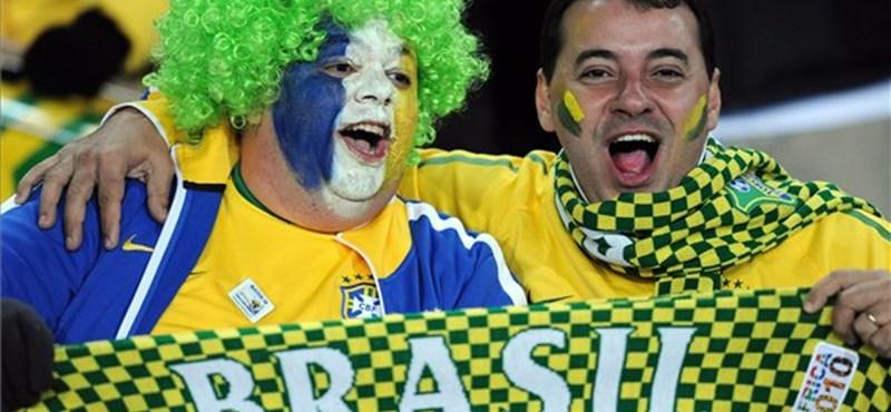 Brazília már most kijutott a 2018-as focivébére