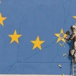 A Brexitről szól Banksy legújabb festménye