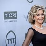 """Jane Fonda: """"A legtöbb Weinstein-áldozatra azért figyeltek fel, mert fehérek és híresek"""""""