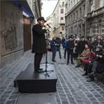 A budapesti gettó felszabadítására emlékeztek a Dohány utcában