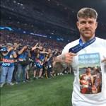 A Liverpool BL-győztes spanyolja pólóján üzent az elhunyt Reyesnek