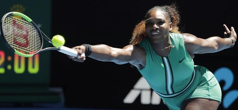 Ezt a malőrt! Serena Williams elárulhatta Meghan Markle gyerekének nemét