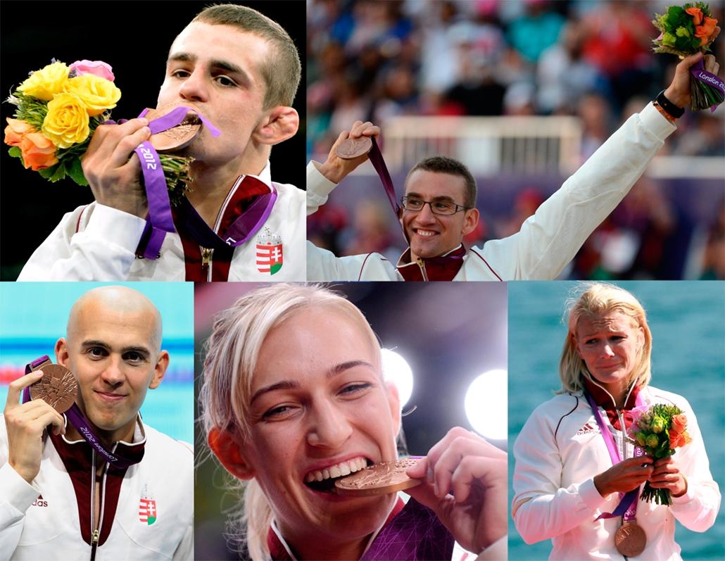 magyar érmesek - bronz - évsportképei