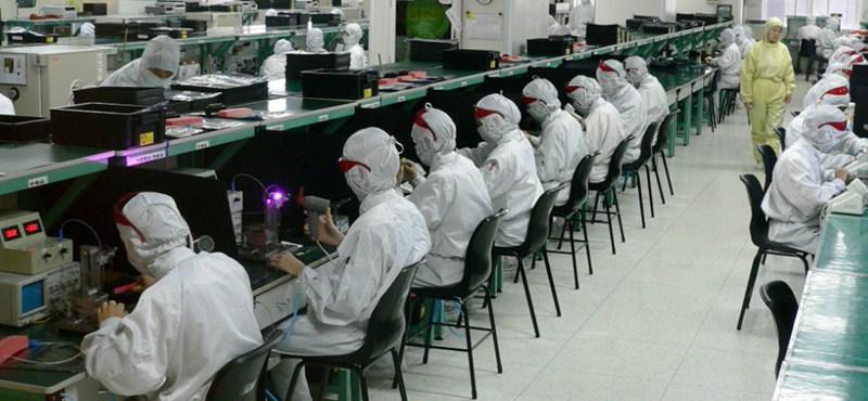 Váratlanul nagy arányban csökkent a kínai export