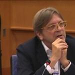 """Guy Verhofstadt: """"Gonosz és önkény"""" uralkodik Magyarországon"""