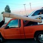 Fotó: ágyúval is csempésznek már drogot