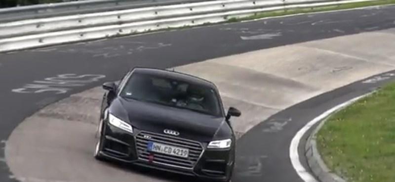 Ez már az Audi TT új csúcsváltozata lehet – videó