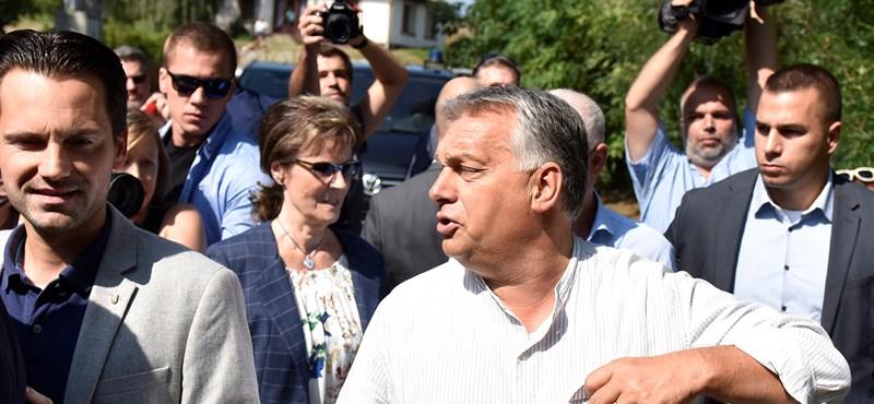 Befutott Kötcsére Orbán, indulhat a piknik