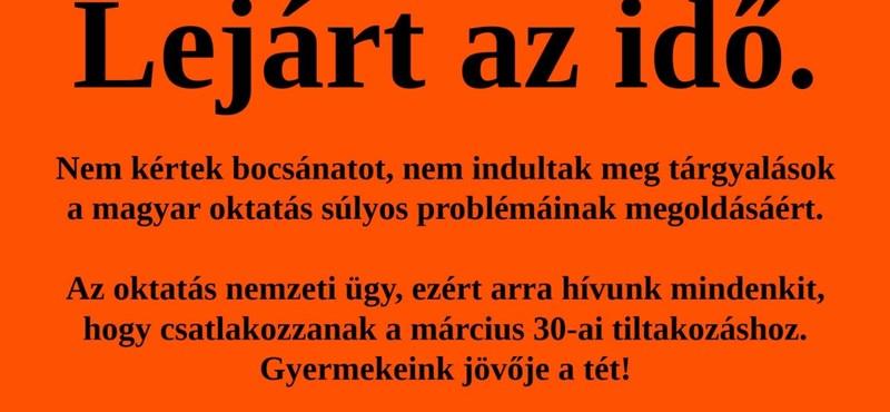 Palkovics: A sztrájkoló tanároknak nem lesz bántódásuk