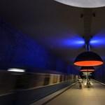 Űrtérben közlekedik a müncheni metró – nézzen képeket!