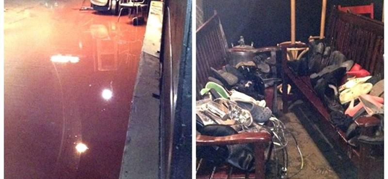 Kiütötte az özönvíz a Katona József Színház kisszínpadát