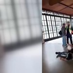 Idős férfit bántalmazott egy biztonsági őr a Nyugati pályaudvaron