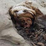 A világ legnagyobb gyermekáldozati helyét találták meg Peruban