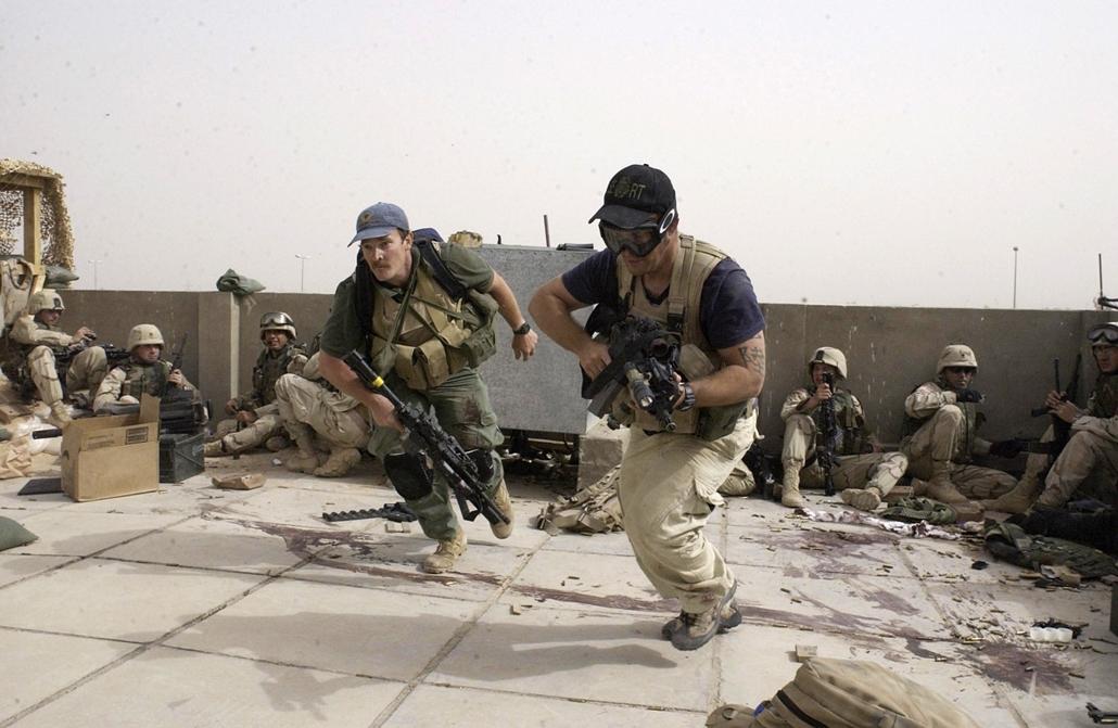 Privát biztonsági cég katonái irakban