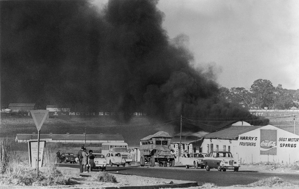 afp.1976. - Sowetói zavargások - Apartheid nagyítás