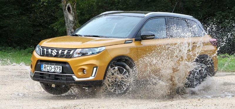 Okosabb, kizárólag turbós és kicsit drágább: vezettük az új Suzuki Vitarát