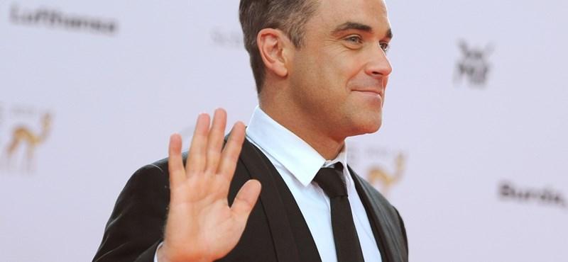 Robbie Williams alig várja, hogy Budapesten koncertezzen