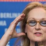 A nők elleni erőszakról beszélt újságíróknak Meryl Streep
