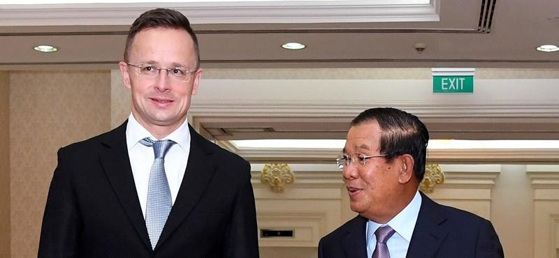 A magyar küldöttség miatt zárták be a kambodzsai főváros iskoláit