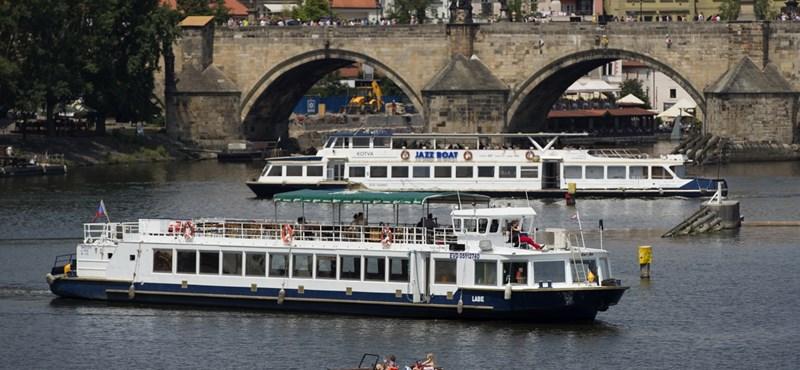 Rekordot döntött a nyári forróság Prágában is