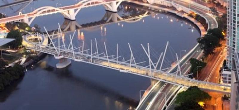 A világ első napelemes hídja