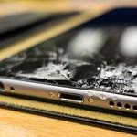 Hiába törik be a mobil kijelzője, sokan tovább használják