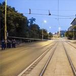 Tüzérségi lövedékek miatt zárták le a Krisztina körutat a Délinél