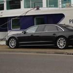 Királyi limuzinnak készült ez a hosszított Audi A8, amely most eladó