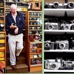 3000 fényképezőgépet gyűjtött össze egy skót férfi