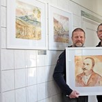 Borral festett - Szabó Győző ecsetet ragadott