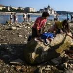 Három helyen is rekordalacsony a Duna vízállása