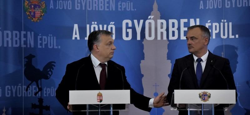 Borkai Zsolt áttolta: A győriek pénzéből költenek Orbán házi szabadegyetemére