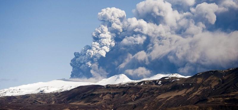 18 ezer földrengés után vulkánkitörés következhet Izlandon