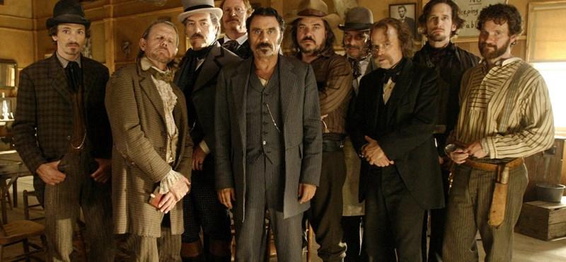A hír igaz, tényleg jön a Deadwood-film tavasszal
