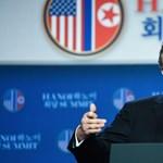 Trump elmondta, miért maradt el a megállapodás Koreával