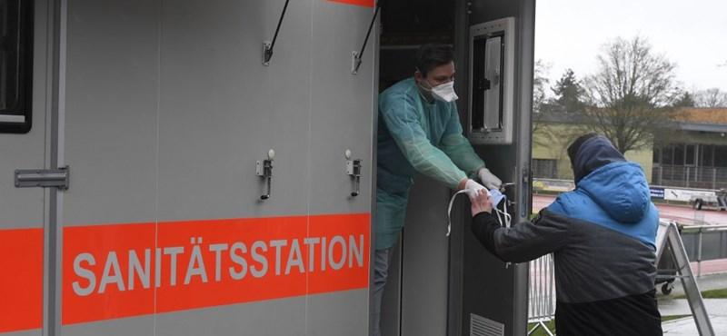 Ingyen koronavírus-tesztet kínál a bajor kormány a tartomány mind a 13 millió lakosának