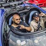 Hamilton 1030 lóerős Koenigsegg Agerával furikázott Las Vegasban