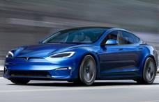 Itt az új Tesla Model S: 1100+ lóerő, elképesztő gyorsulás és futurisztikus műszerfal