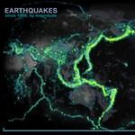 Egy képen a világ összes földrengése