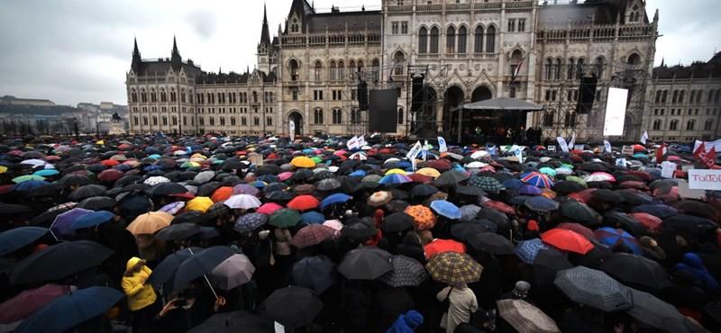 Egész pályás letámadást indított a Magyar Idők a civilek ellen