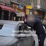 Filmbe illő dílerfogás a Király utcában – videó