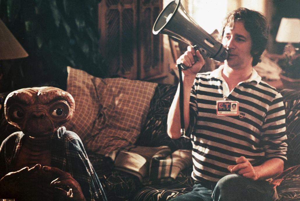 afp.1982: Steven Spielberg, ET