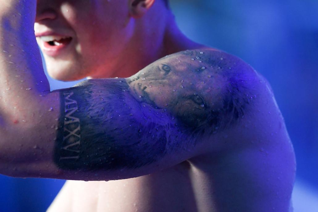 rev.17.07.25. FINA nagyítás - Adam Peaty és a híres oroszlános tetoválás