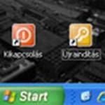 XP: kikapcsolás ikon az asztalon